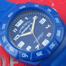Orologio Sportauto Gomma Blu